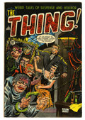 Golden Age (1938-1955):Horror, The Thing! #8 (Charlton, 1953) Condition: FN+....