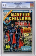 Bronze Age (1970-1979):Horror, Giant-Size Chillers #1 (Marvel, 1974) CGC NM- 9.2 White pages....