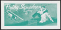 "Movie Posters:Adventure, Flying Squadron (Universal, 1935). Promotional Poster (9.5"" X 19"").Poster intended to publicize ""Flying Squadron,"" a film w..."