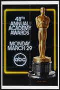 "Movie Posters:Academy Award Winner, Academy Awards Poster (AMPAS, 1976). One Sheet (27"" X 41""). The48th Annual Academy Awards took place on March 29, 1976. Thi..."