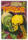 Golden Age (1938-1955):Horror, Beware Terror Tales #6 (Fawcett, 1953) Condition: VG....