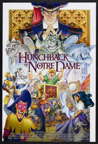 """The Hunchback of Notre Dame (Buena Vista, 1996). One Sheet (27"""" X 41""""). Animated. Starring the voices of Tom H..."""