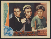 """Angels With Dirty Faces (Warner Brothers, 1938). Other Company Lobby Card (11"""" X 14""""). Crime. Starring James C..."""