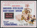 "Movie Posters:Comedy, The Pink Panther (United Artists, 1964). British Quad (30"" X 40"").Comedy. Starring David Niven, Peter Sellers, Robert Wagne..."