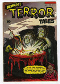 Golden Age (1938-1955):Horror, Beware Terror Tales #8 (Fawcett, 1953) Condition: VG+....