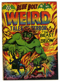 Golden Age (1938-1955):Horror, Blue Bolt #112 (Star Publications, 1952) Condition: VG/FN....