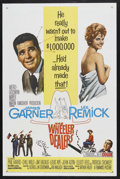 """Movie Posters:Comedy, The Wheeler Dealers (MGM, 1963). One Sheet (27"""" X 41""""). Comedy.Starring James Garner, Lee Remick, Phil Harris, Chill Wills ..."""