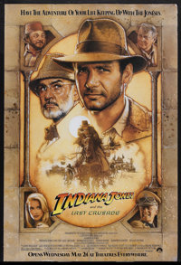 "Indiana Jones and the Last Crusade (Paramount, 1989). One Sheet (27"" X 41""). Action Adventure. Starring Harris..."