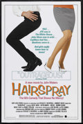 "Movie Posters:Comedy, Hairspray (New Line Cinema, 1988). One Sheet (27"" X 41""). Comedy. Starring Sonny Bono, Ruth Brown, Divine, Debbie Harry, Ric..."
