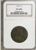 Large Cents, 1799 1C Fair 2 NGC....