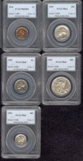 Proof Sets: , Multiple Coin Lot...