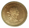 1870 Standard Silver Ten Cents, Judd-846, Pollock-945, R.7, PR 63 Red PCGS. A Standard Silver issue, with the obverse fe...