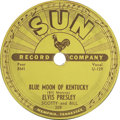 "Music Memorabilia:Recordings, Elvis Presley ""That's All Right"" 78 (Sun 209, 1954). The King'sfirst, and in the rarer 78 format. Only Elvis could have pul...(Total: 1 Item)"