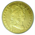 Early Half Eagles: , 1795 $5 SM EAGLE