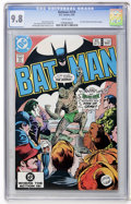 Modern Age (1980-Present):Superhero, Batman #359 (DC, 1983) CGC NM/MT 9.8 White pages....