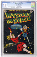 Golden Age (1938-1955):Science Fiction, Mystery in Space #1 (DC, 1951) CGC VG- 3.5 Cream to off-whitepages....