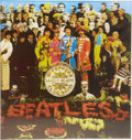 "Music Memorabilia:Memorabilia, Beatles Sgt. Pepper's Lonely Hearts Club Band Lenticular Cover. A 24"" x 24"" psychedelic lenticular reproduction ... (Total: 1 Item)"