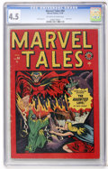 Golden Age (1938-1955):Horror, Marvel Tales #94 (Atlas, 1949) CGC VG+ 4.5 Off-white to whitepages....