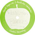 "Music Memorabilia:Recordings, Beatles ""Revolution"" 10"" 45-rpm Acetate Apple (1969). This was theB-side of the Beatles' biggest single, ""Hey Jude."" The si...(Total: 1 Item)"
