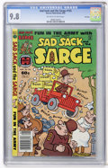 Modern Age (1980-Present):Humor, Sad Sack and the Sarge #155 File Copy (Harvey, 1982) CGC NM/MT 9.8Off-white to white pages....