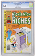 Bronze Age (1970-1979):Humor, Richie Rich Riches #39 File Copy (Harvey, 1978) CGC NM+ 9.6 Whitepages....