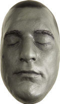 Movie/TV Memorabilia:Memorabilia, Robert De Niro Life Mask. A silver-painted plaster life mask of theRaging Bull star, in Excellent condition.... (Total: 1 Item)
