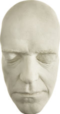 Movie/TV Memorabilia:Memorabilia, Fred Astaire Life Mask. An unpainted plaster life mask of the actor and legendary dancer, in Excellent condition.... (Total: 1 Item)