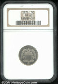 Proof Shield Nickels: , 1870 5C