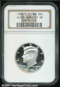 Proof Sets: , 1993-S 50C Silver