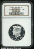Proof Sets: , 1996-S 50C Silver