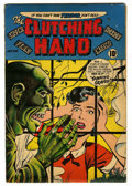 Golden Age (1938-1955):Horror, Clutching Hand #1 (ACG, 1954) Condition: VG+....