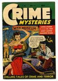 Golden Age (1938-1955):Crime, Crime Mysteries #6 (Ribage Publishing, 1953) Condition: FN+....