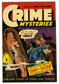 Golden Age (1938-1955):Horror, Crime Mysteries #7 (Ribage Publishing, 1953) Condition: VG....