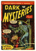 Golden Age (1938-1955):Horror, Dark Mysteries #11 (Master Publications, 1953) Condition: FN+....