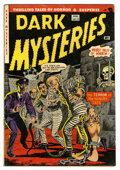 Golden Age (1938-1955):Horror, Dark Mysteries #13 (Master Publications, 1953) Condition: VG+....
