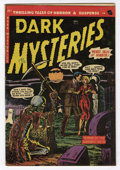 Golden Age (1938-1955):Horror, Dark Mysteries #15 (Master Publications, 1953) Condition: VG/FN....