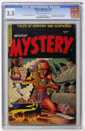 Golden Age (1938-1955):Horror, Mister Mystery #18 (Aragon Magazines, Inc., 1954) CGC VG- 3.5 Creamto off-white pages....