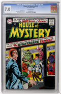 Silver Age (1956-1969):Horror, House of Mystery #155 (DC, 1965) CGC FN/VF 7.0 Off-white pages....