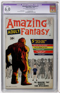 Silver Age (1956-1969):Adventure, Amazing Adult Fantasy #7 (Marvel, 1961) CGC Apparent FN 6.0 Slight (A) Off-white to white pages....