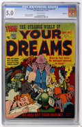 Golden Age (1938-1955):Horror, Strange World of Your Dreams #2 Bethlehem pedigree (Prize, 1952)CGC VG/FN 5.0 Off-white pages....