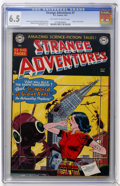 Golden Age (1938-1955):Science Fiction, Strange Adventures #7 (DC, 1951) CGC FN+ 6.5 Off-white to whitepages....