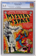 Golden Age (1938-1955):Science Fiction, Mystery in Space #4 (DC, 1951) CGC FN- 5.5 Off-white to whitepages....