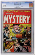 Golden Age (1938-1955):Horror, Mister Mystery #19 (Aragon Magazines, Inc., 1954) CGC FN 6.0 Creamto off-white pages....