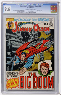 Superman's Pal Jimmy Olsen #138 (DC, 1971) CGC NM+ 9.6 Off-white to white pages