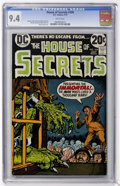 Bronze Age (1970-1979):Horror, House of Secrets #109 (DC, 1973) CGC NM 9.4 White pages....
