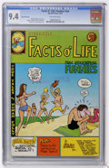 Bronze Age (1970-1979):Alternative/Underground, Facts O' Life Funnies #nn Second Printing (Rip Off Press, 1972) CGC NM 9.4 Off-white pages....