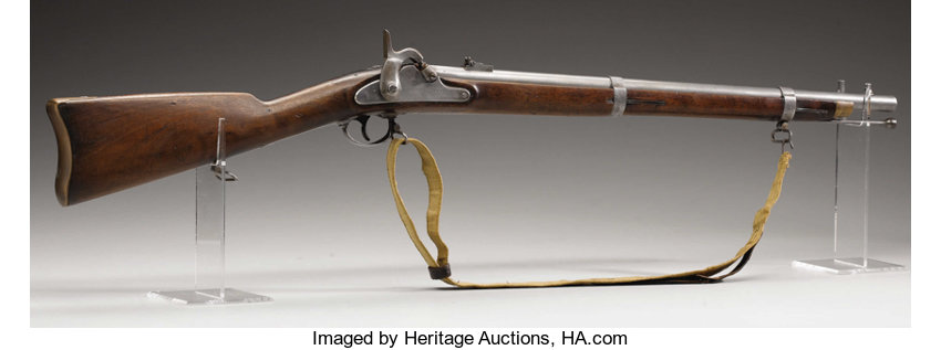 A Rare 'CS' Richmond Carbine With Its Linen Sling - The 4th | Lot
