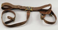 Confederate General's Battle Flag Sword Belt Set Similar to General Hood's. The centerpiece of this wartime treasure is...