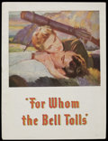 Movie Posters:Drama, For Whom the Bell Tolls (Paramount, 1943). Program (Multiple Pages). War Romance. Starring Gary Cooper, Ingrid Bergman, Akim...