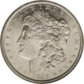Morgan Dollars: , 1895-O $1 AU55 Prooflike NGC. Although the surfaces are moderately abraded and the devices ha...